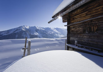 Winter im Zillertal